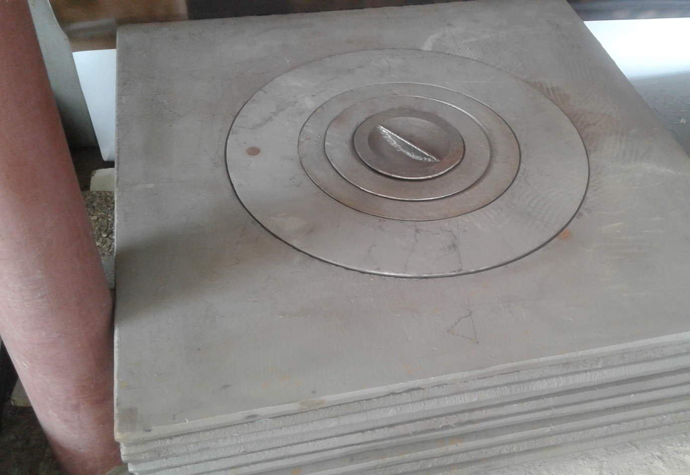 Чугунные плиты под казан