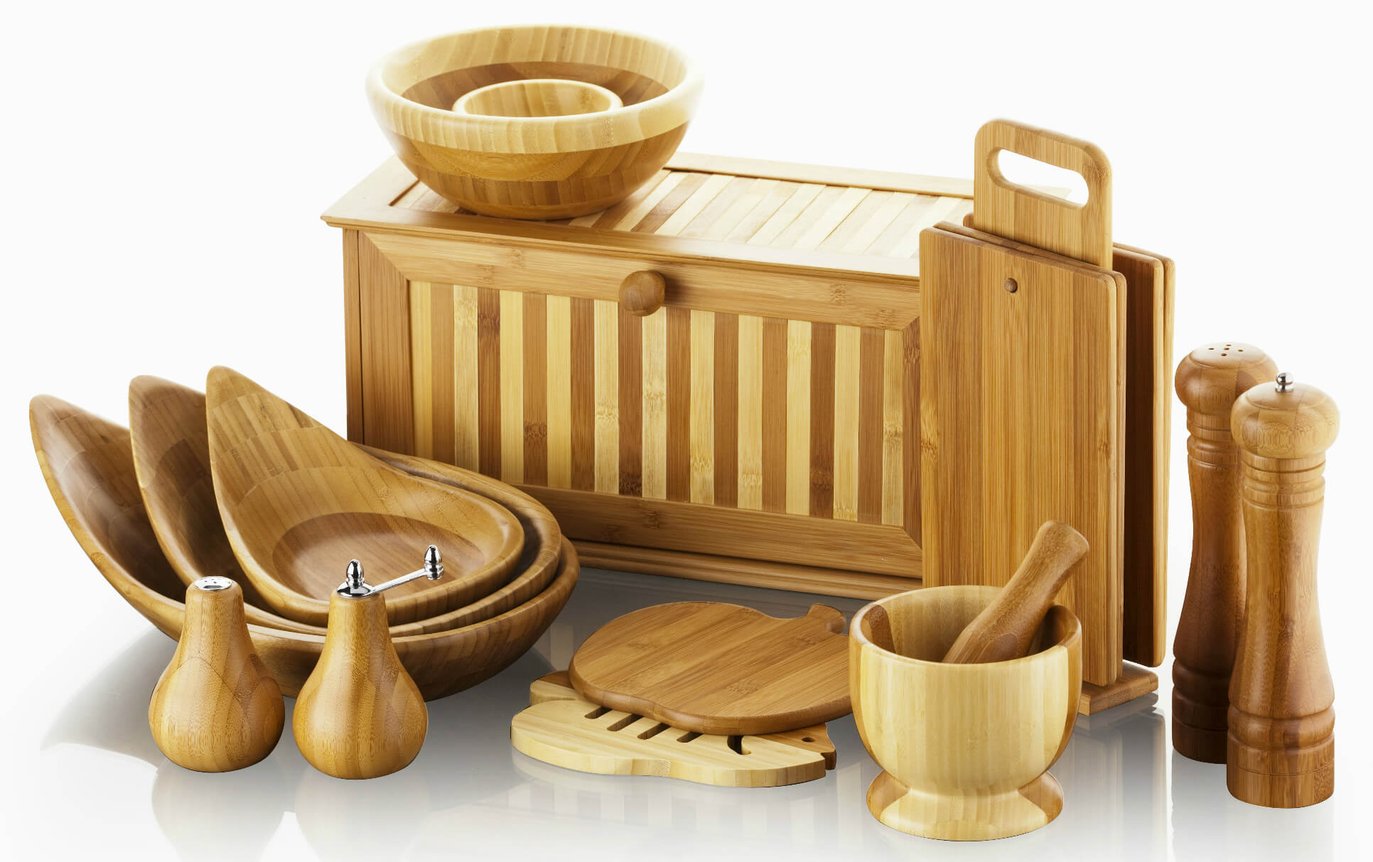 Фото деревянной посуды