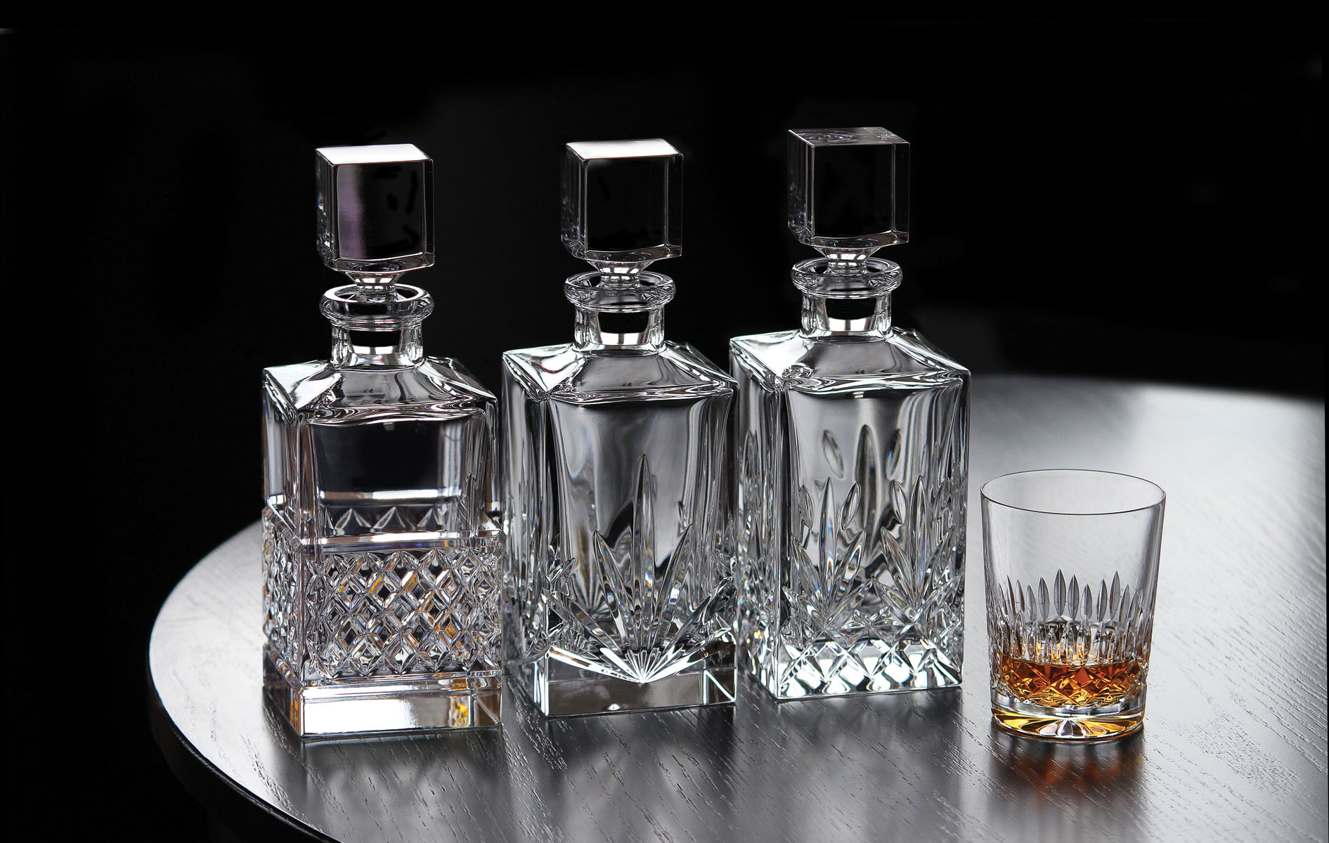 Графины для виски Crystal