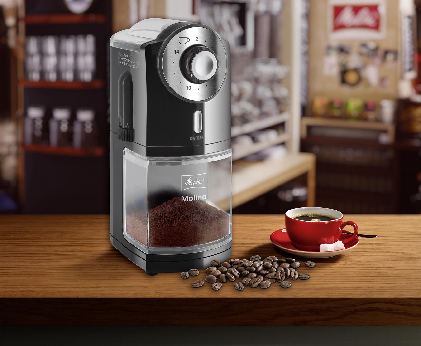 Кофемолка на кухне