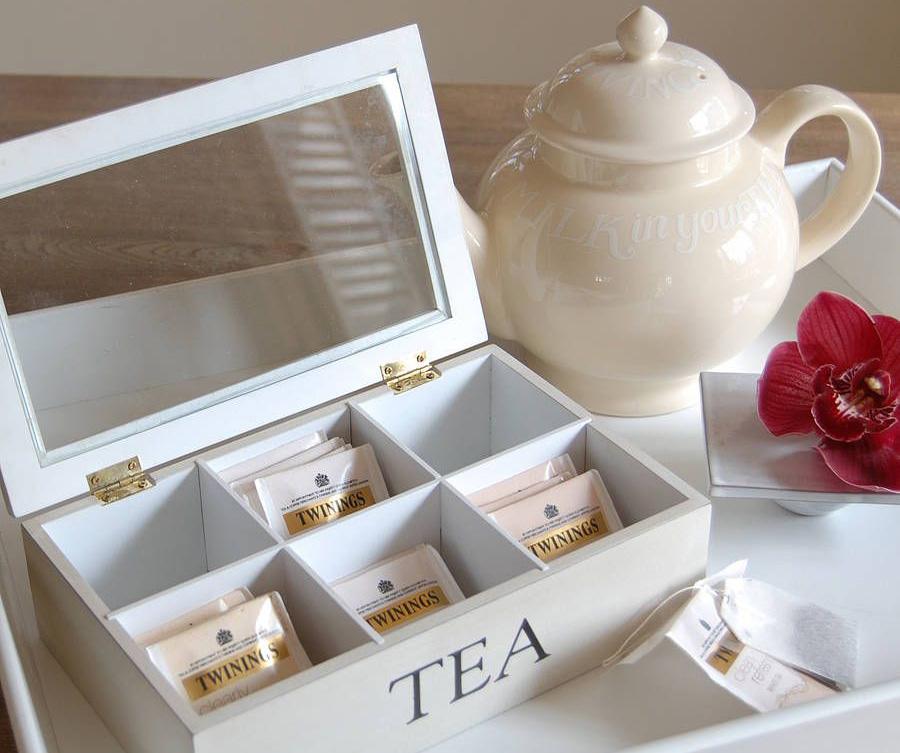 Фото коробки для чая
