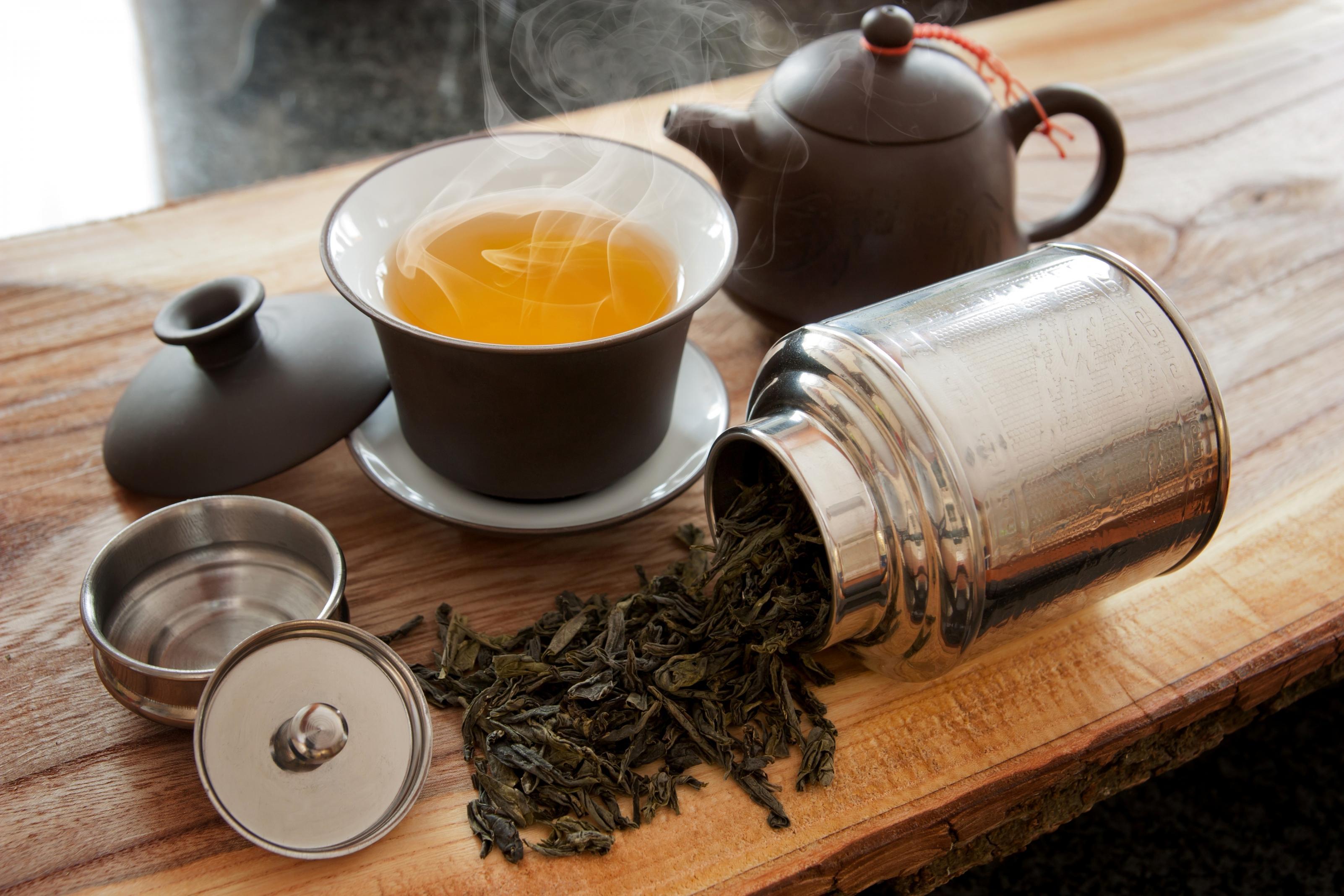 Фото чая в баночке