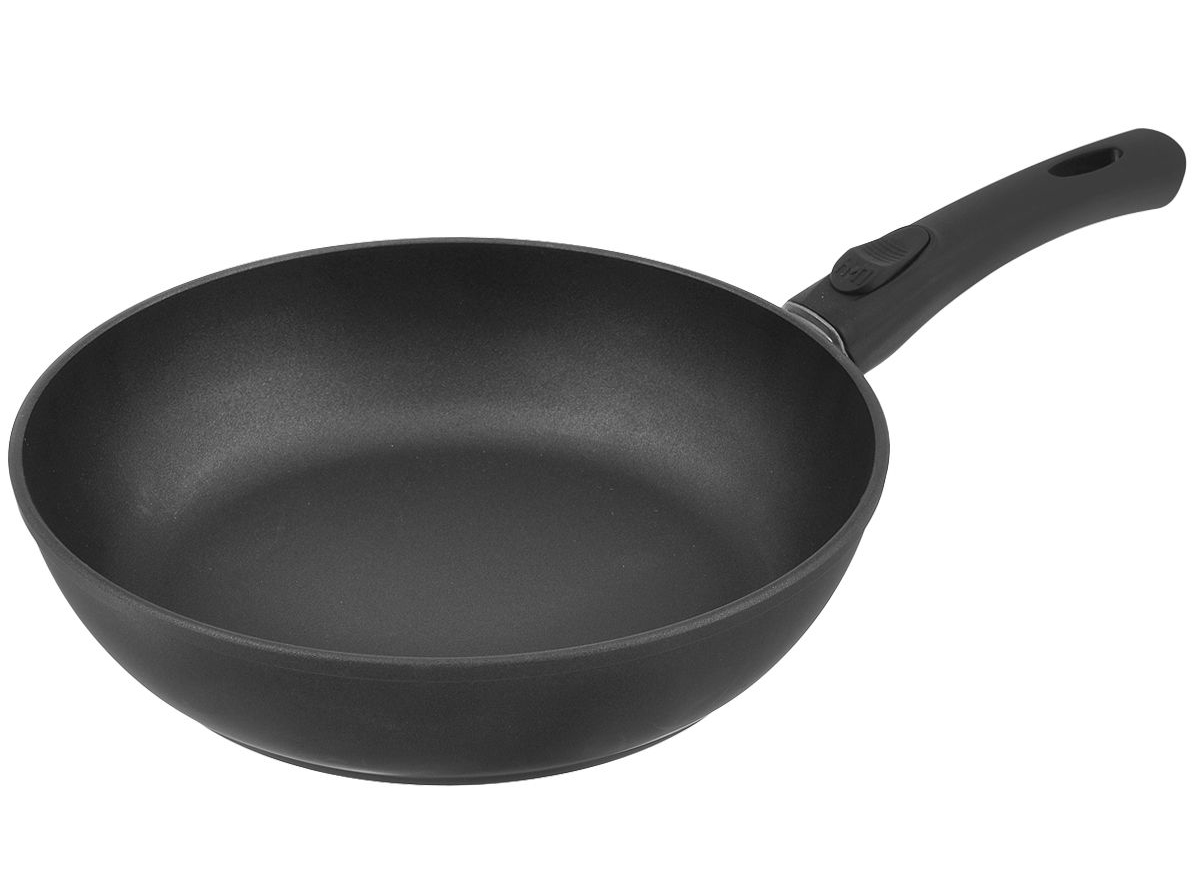 Штампованная сковорода