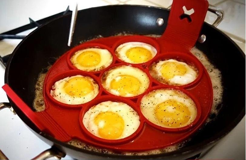 Силиконовая форма с яйцами