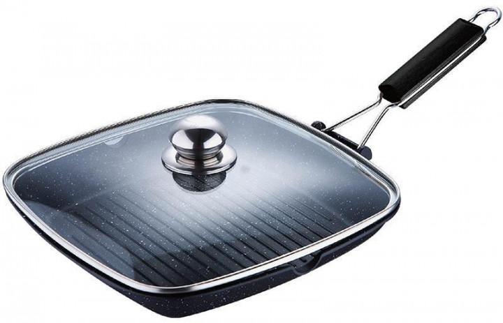 Сковорода-гриль с крышкой