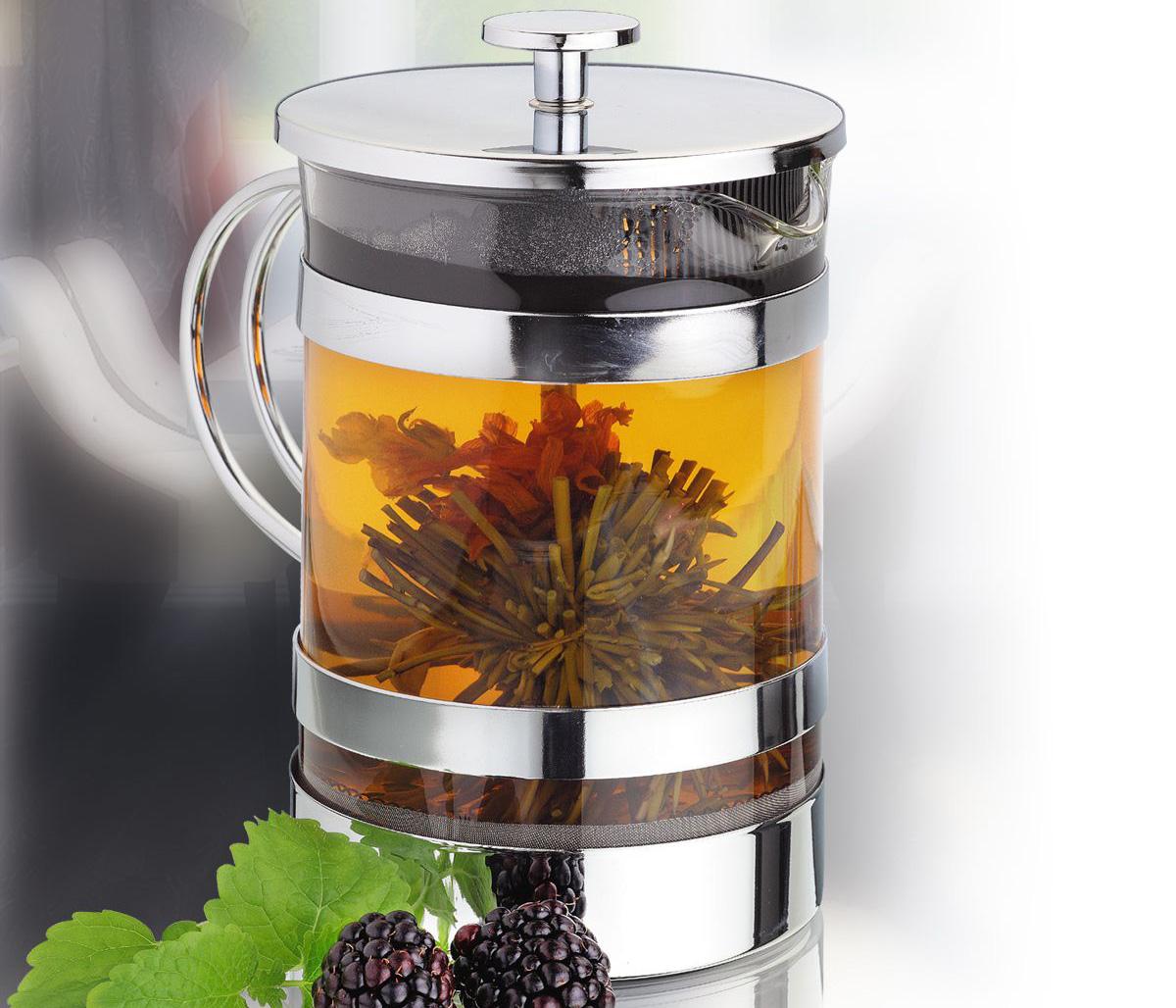 Заварочный чайник френч-пресс