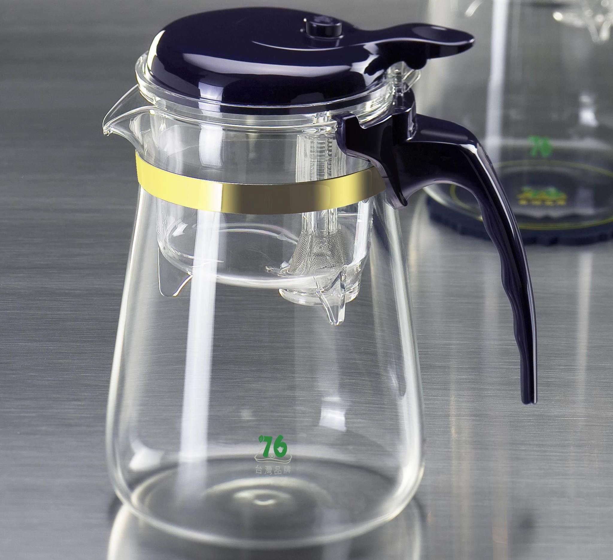 Фото заварочного чайника с кнопкой слива