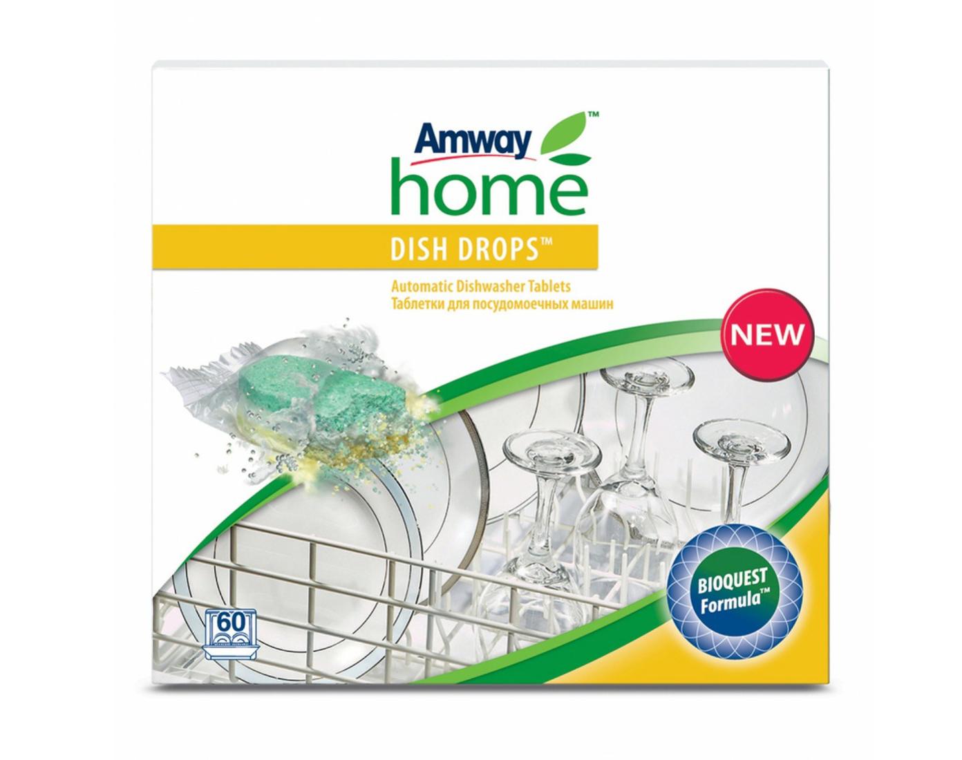 Таблетки для посудомоечной машины Amway DISH DROPS