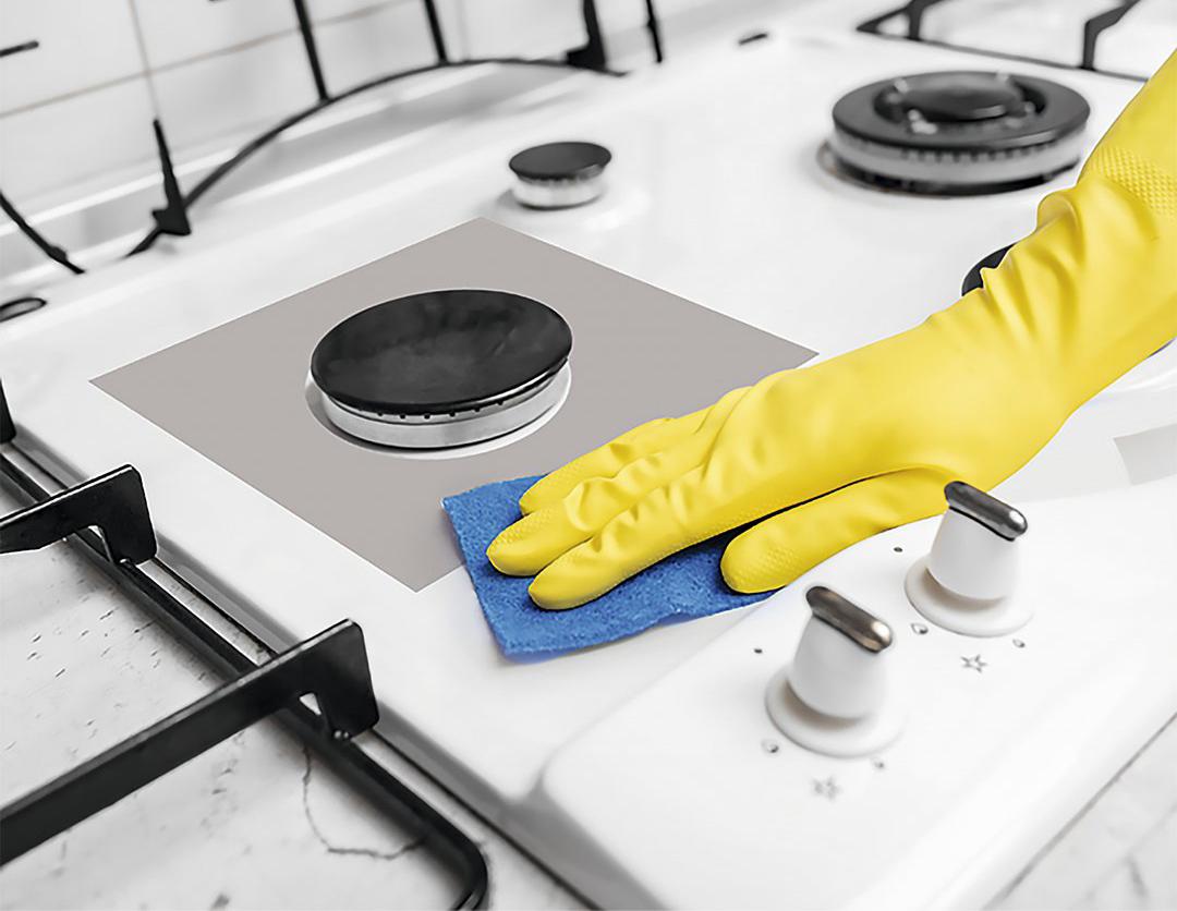 Фото чистой плиты