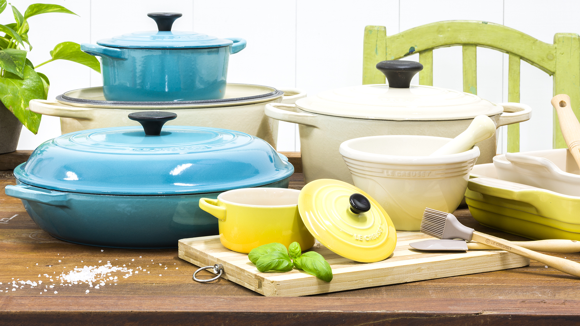 Фото чугунной эмалированной посуды