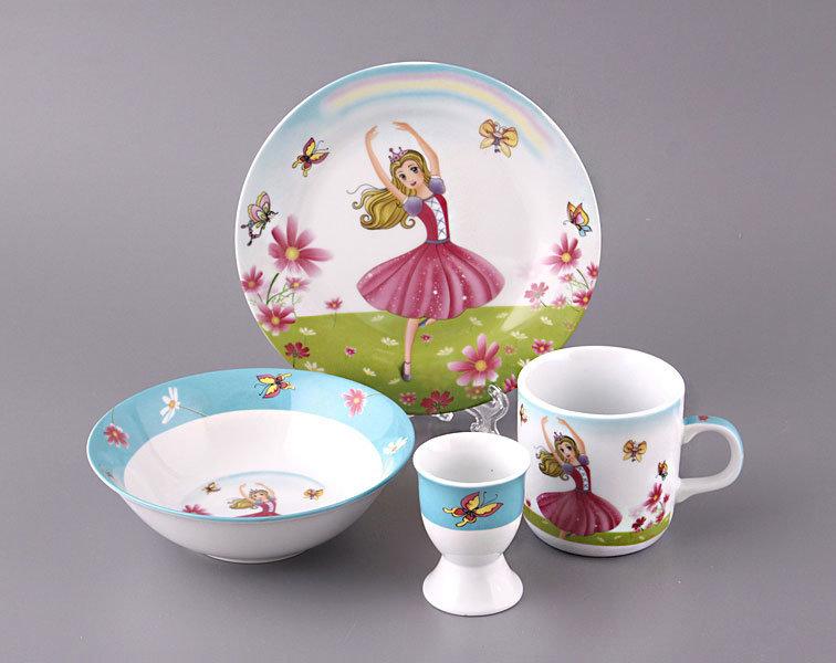 Фото детской посуды
