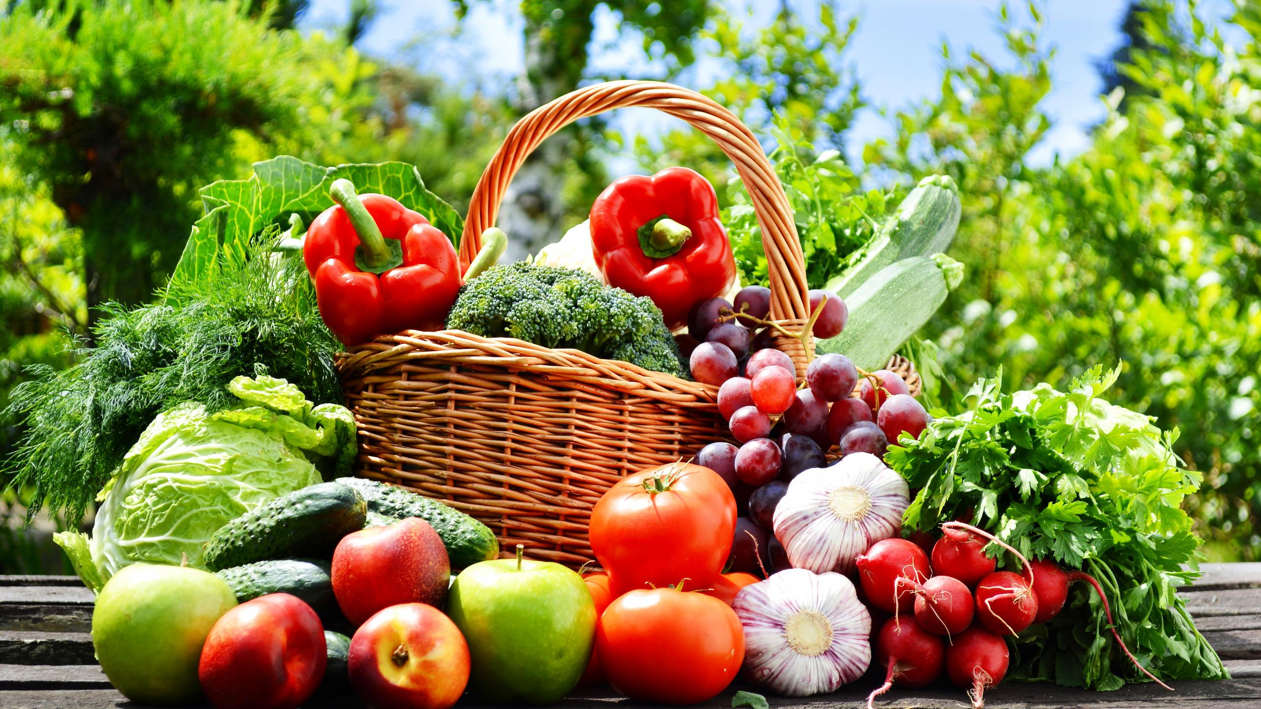 Фото фруктов и овощей