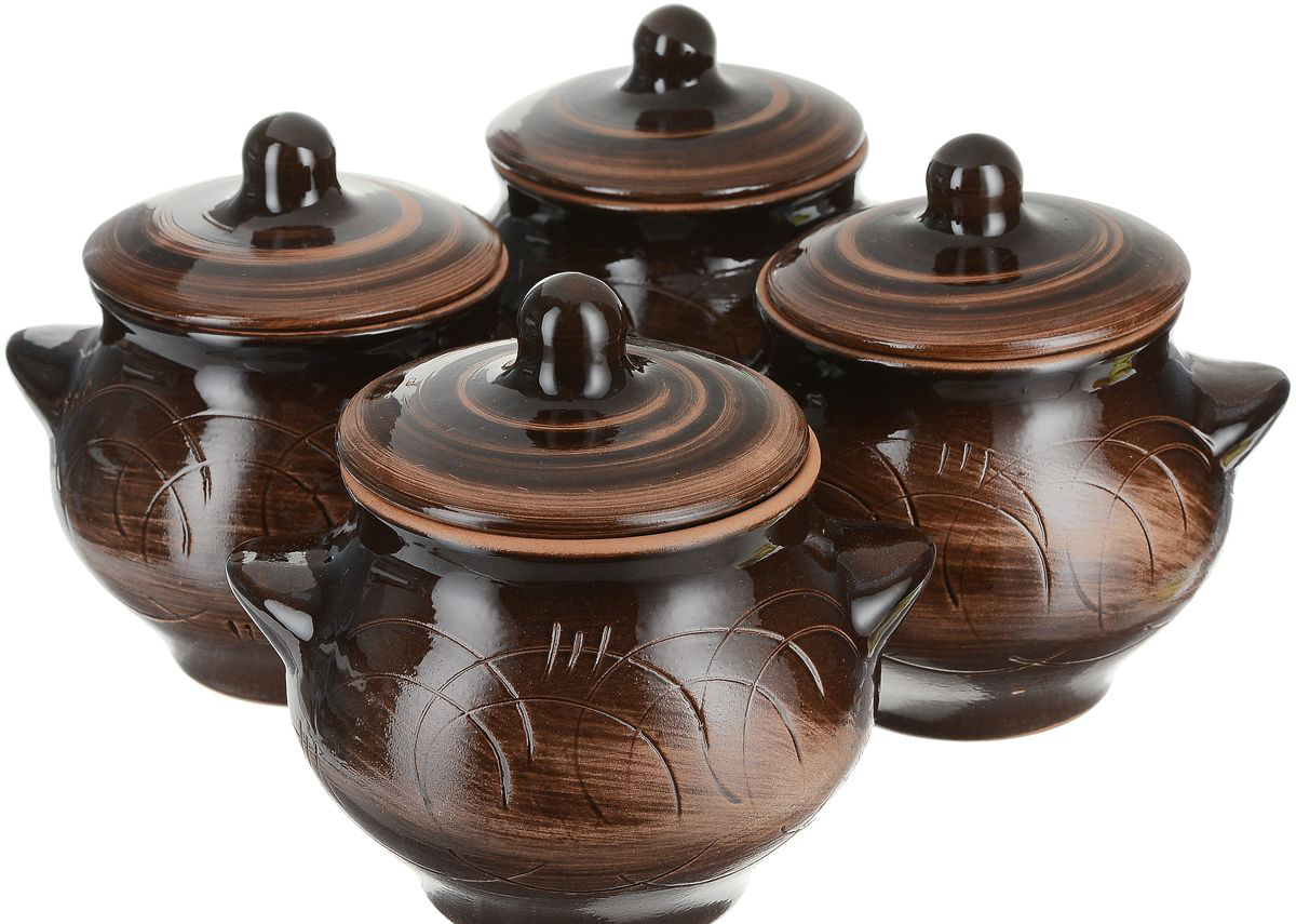 Керамические горшки «Борисовская керамика»