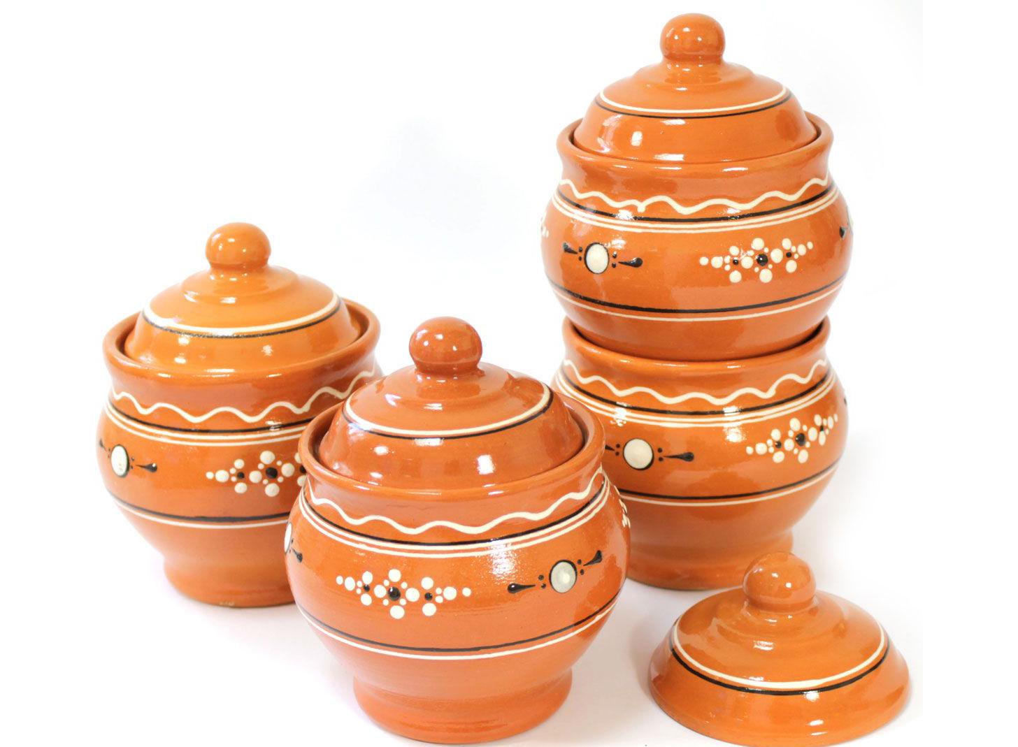 Горшки для запекания «Ломоносовская керамика»