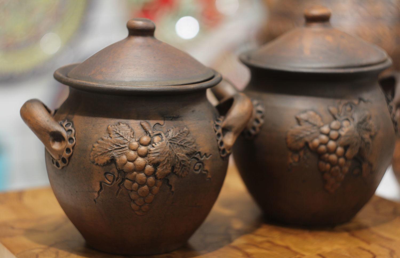 Горшочки из глины для запекания