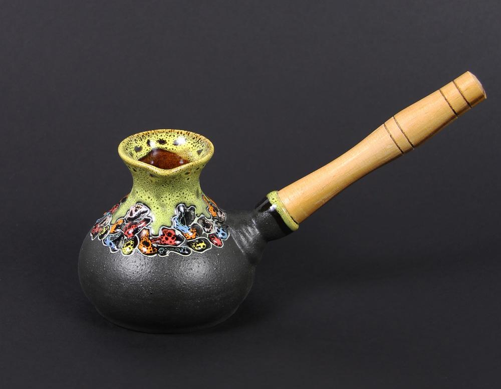 Глазированная керамическая турка