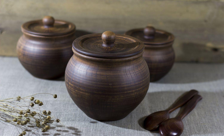 Керамические горшки для запекания