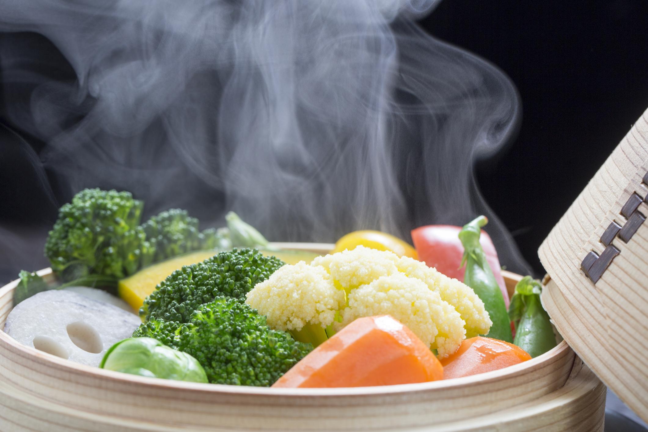 Фото овощей на пару