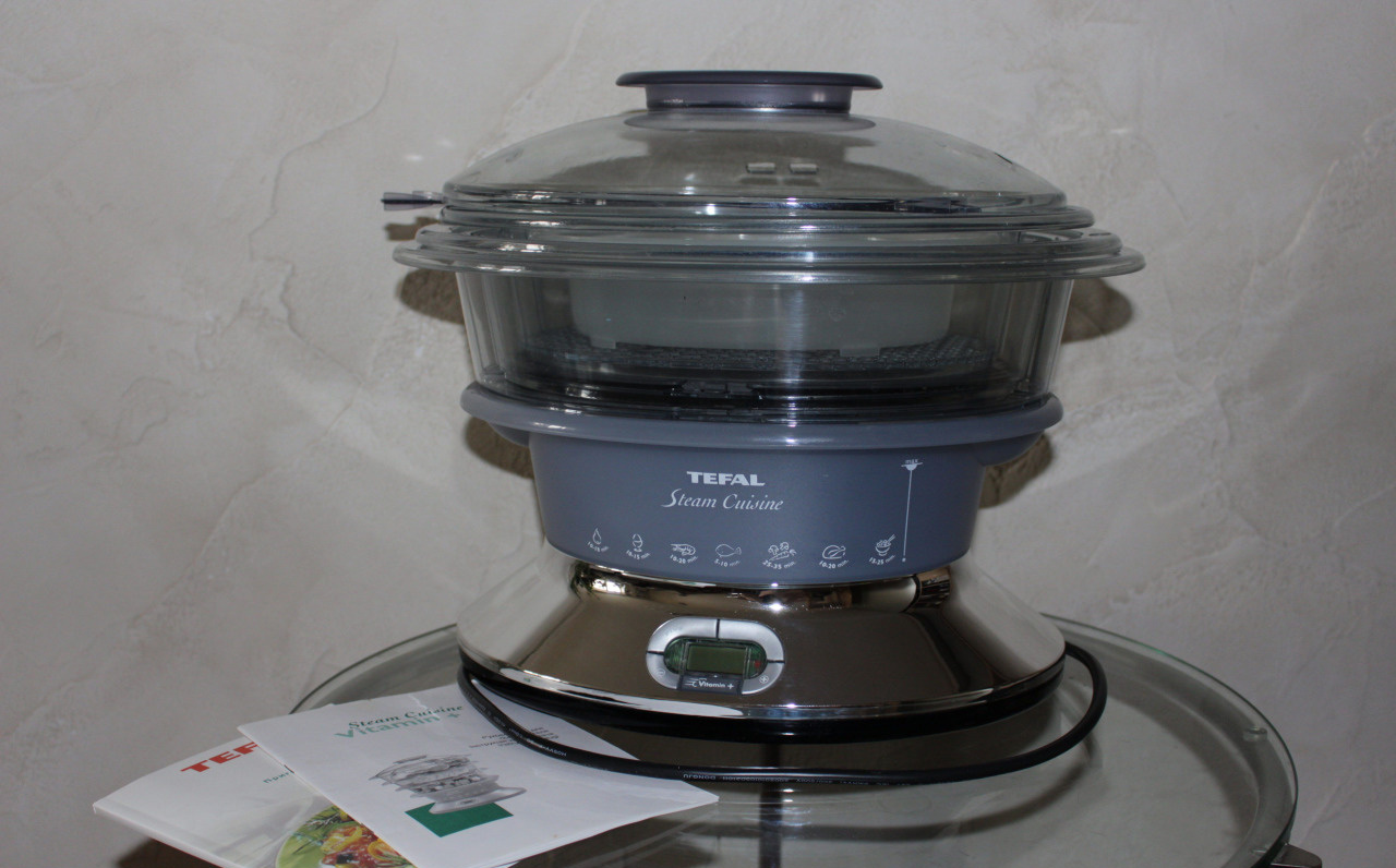 Пароварка Тефаль Steam Cuisine Vitamin