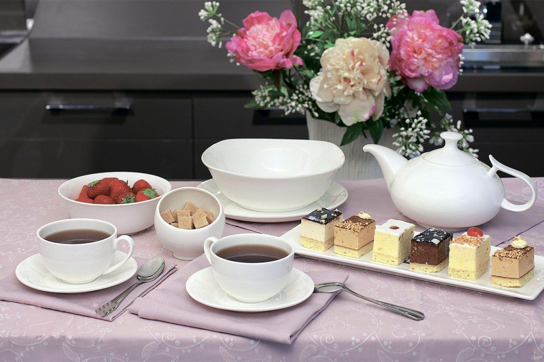 Фото посуды Wilmax на столе