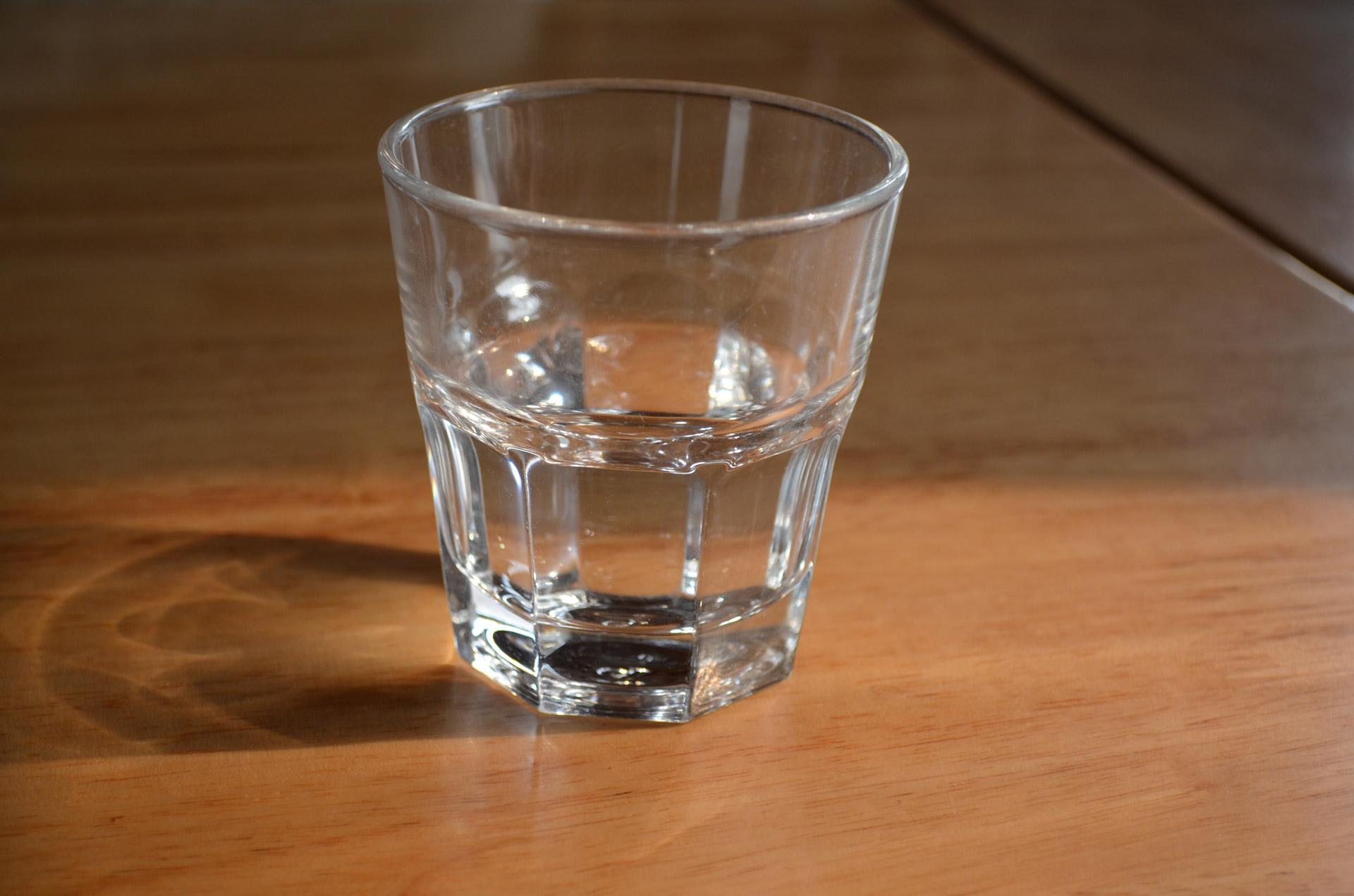 Фото стакана с водой