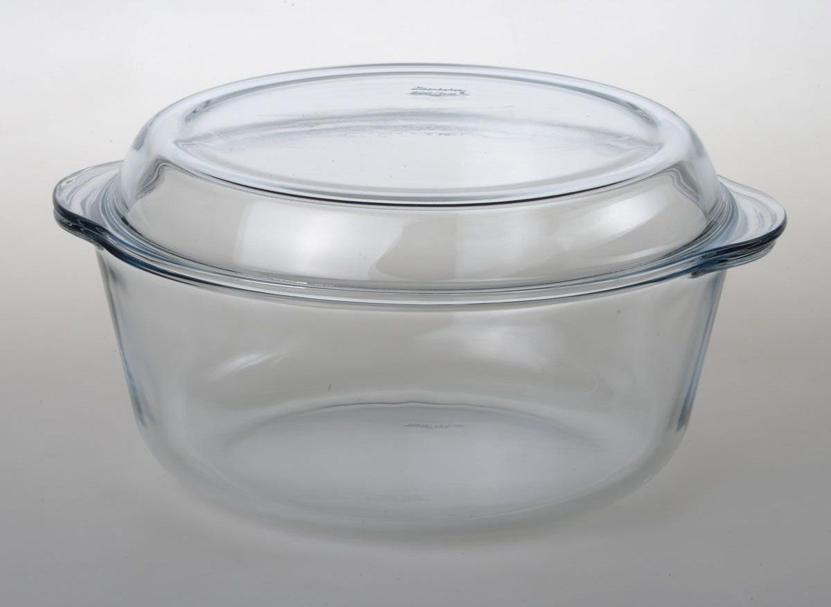Стеклянная кастрюля для духовки