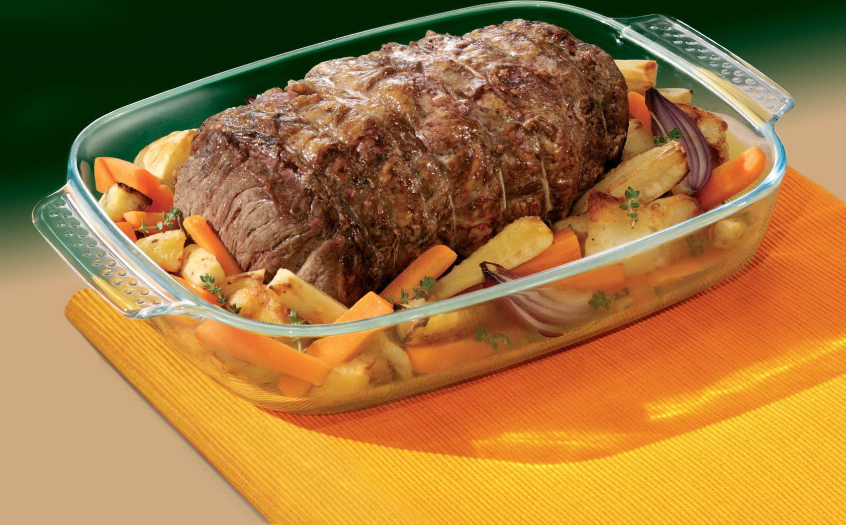 Фото жаропрочной посуды с мясом