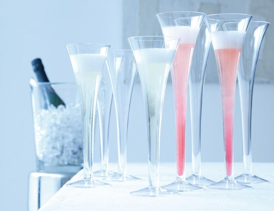 Бокалы Флейта с шампанским