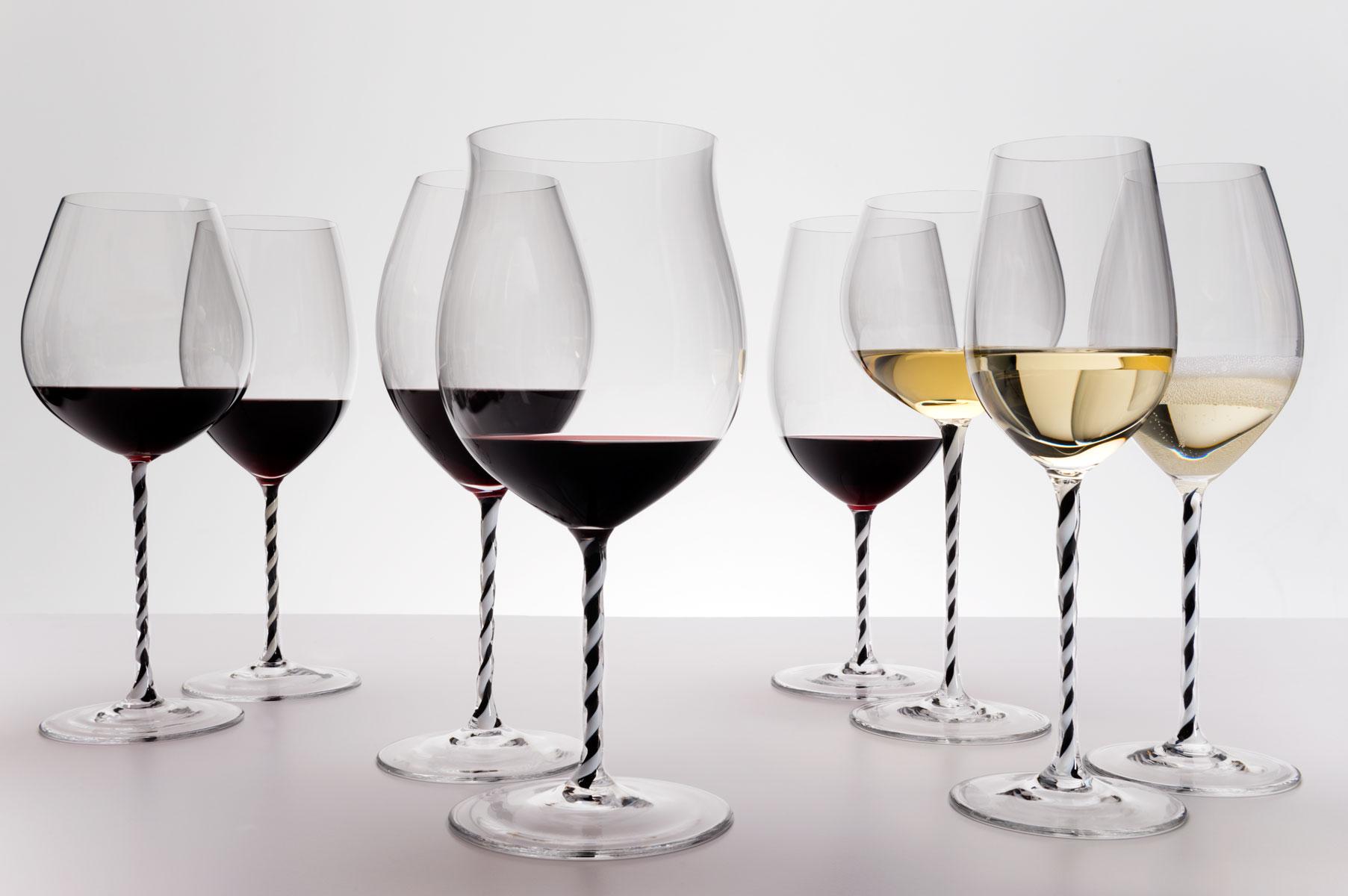 Бокалы Riedel с вином