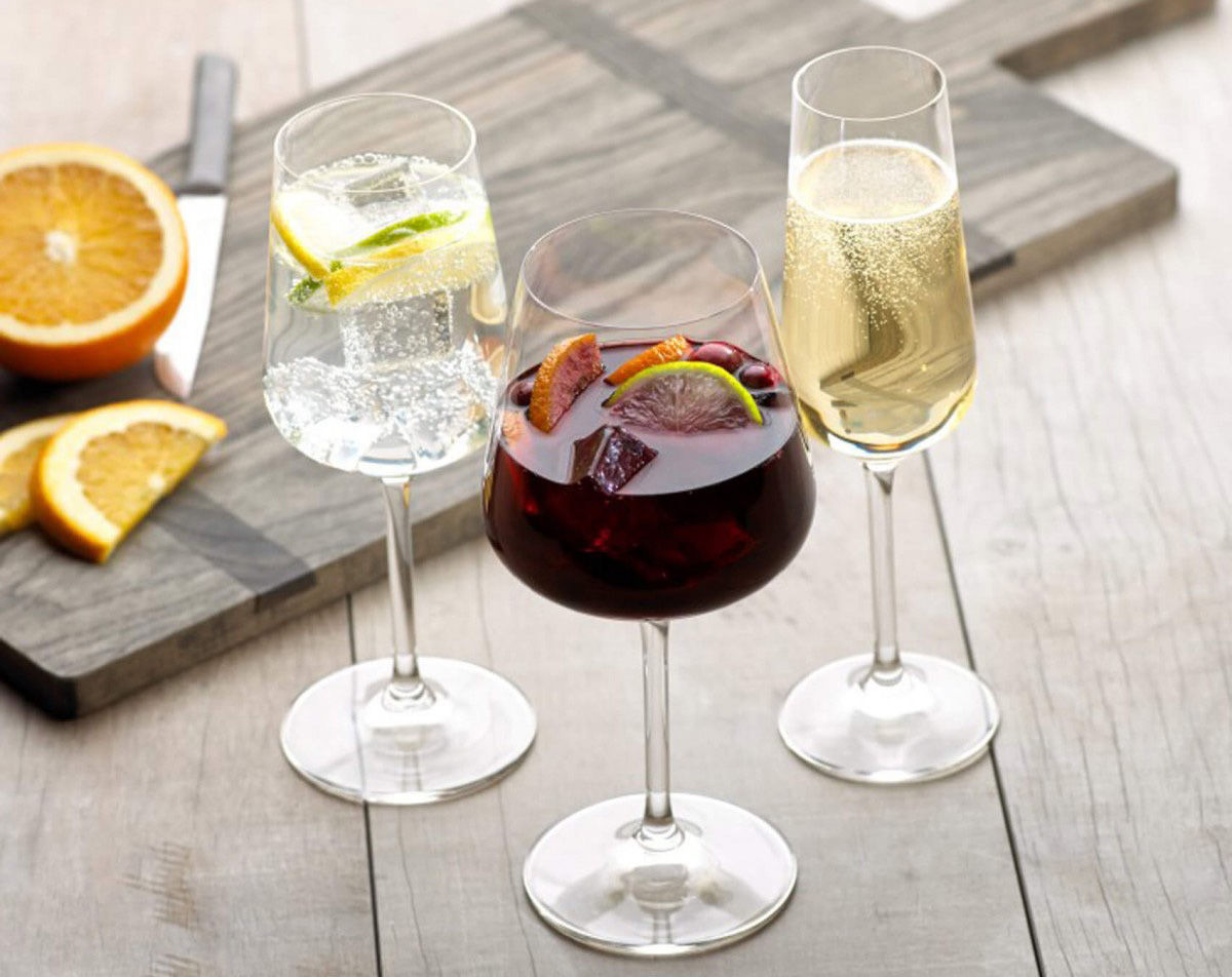 Фото бокалов с напитками