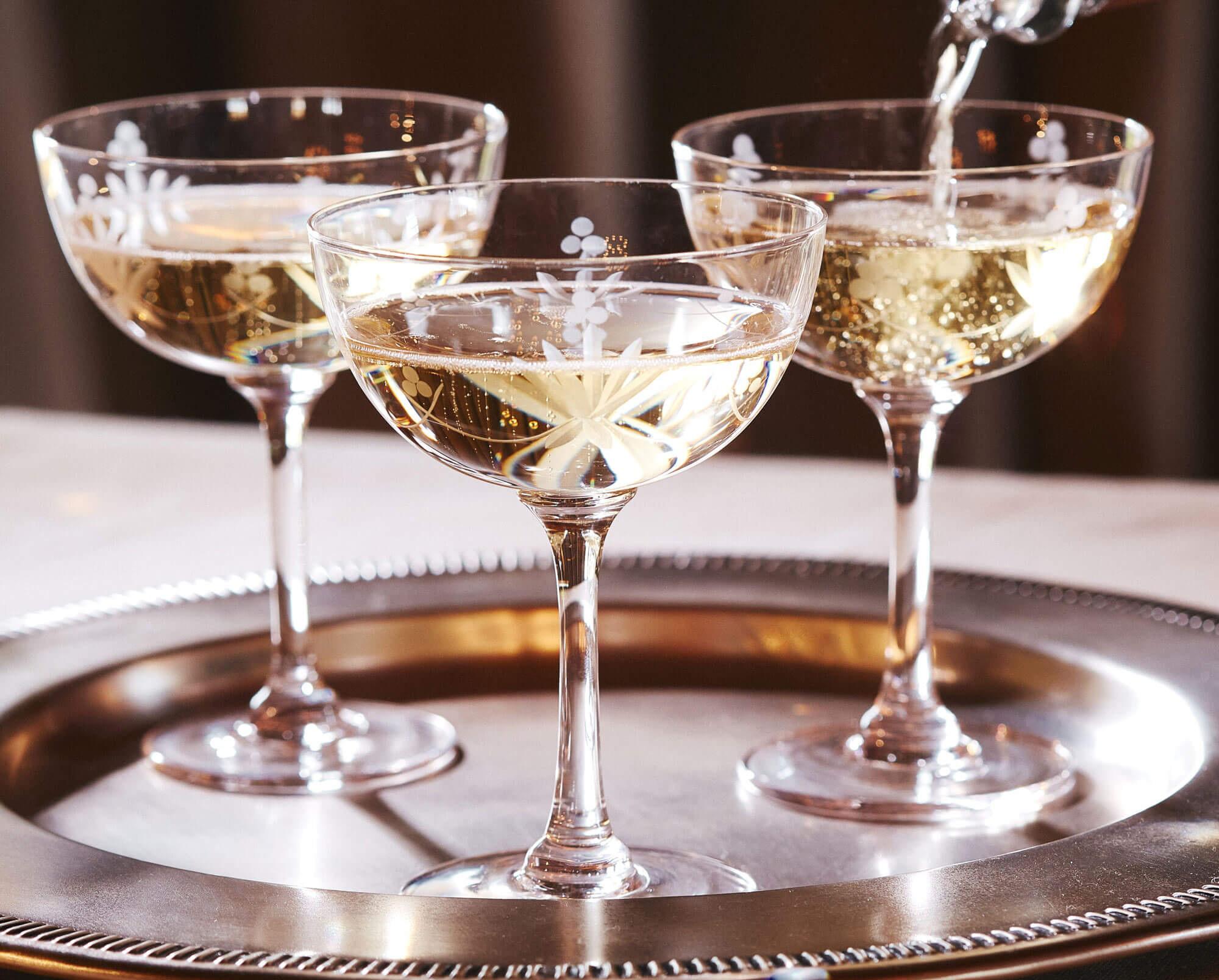 Бокалы coupe de champagne