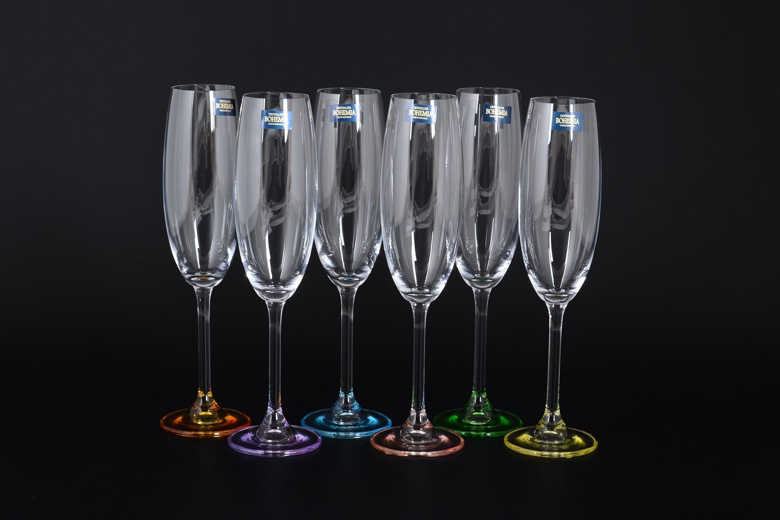 Фото бокалов для шампанского