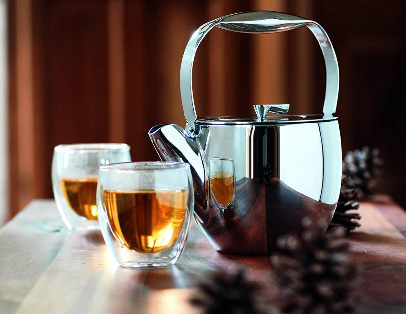 Фото бокалов с чаем