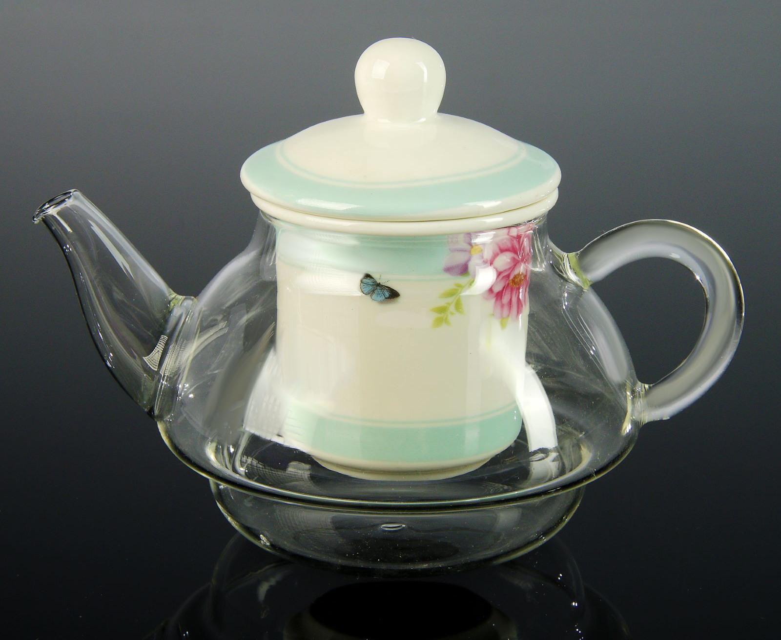 Чайник с керамической колбой