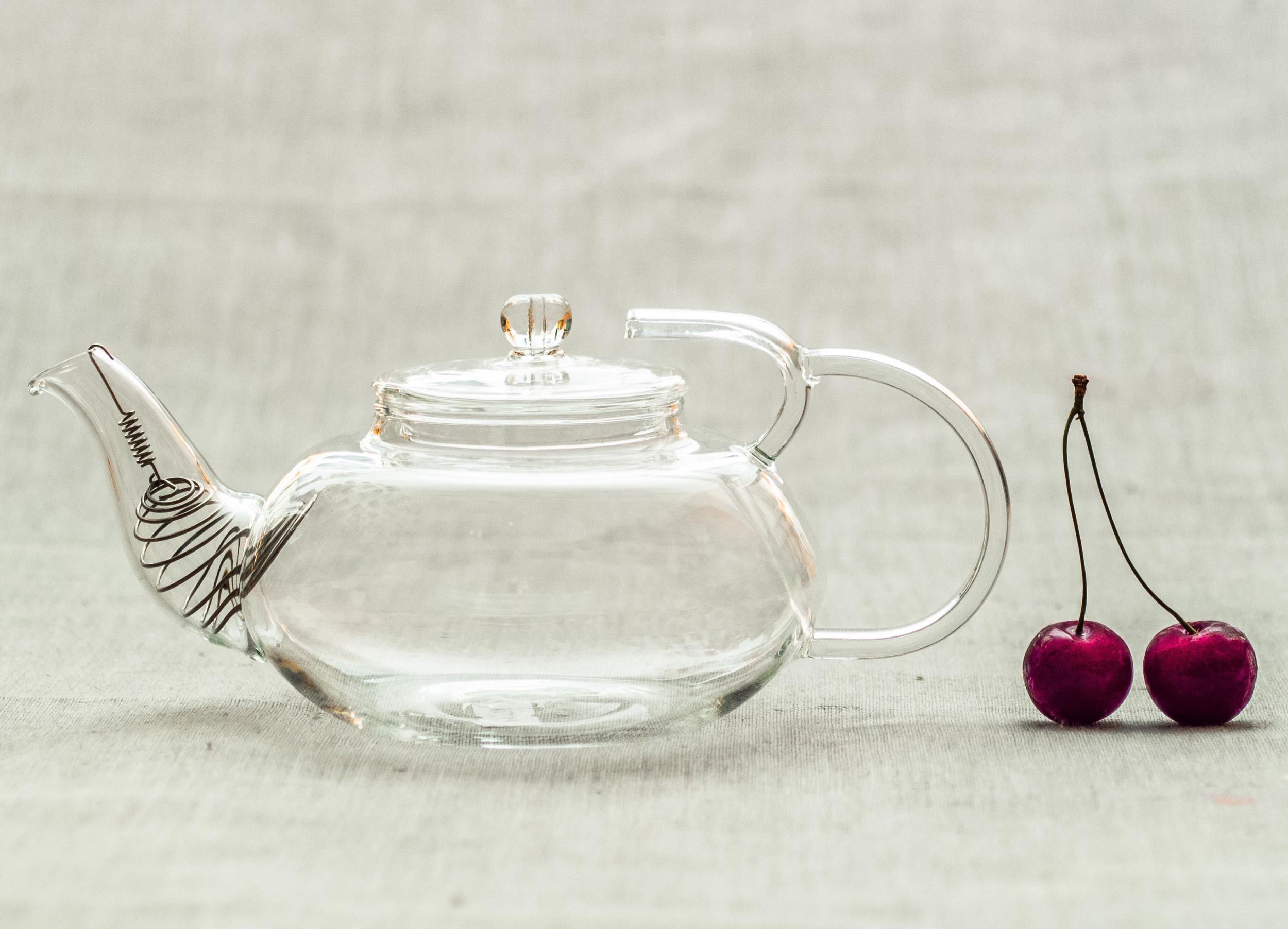 Чайник с пружинкой