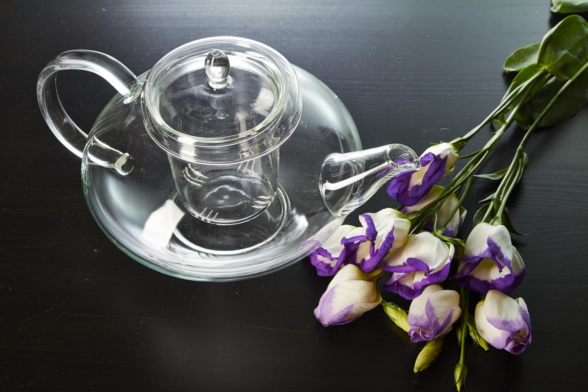 Чайник со стеклянной колбой