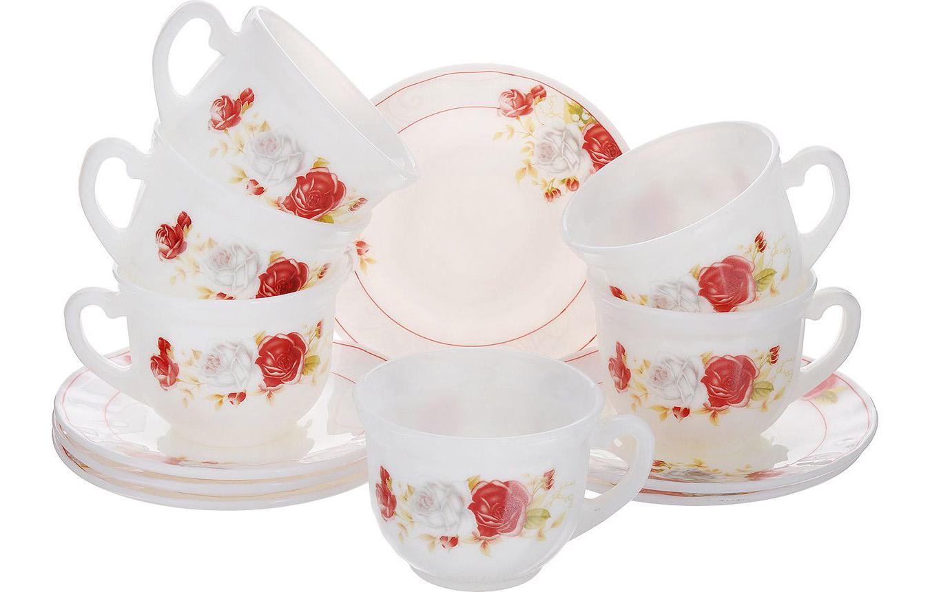 Чайный сервиз из стеклокерамики