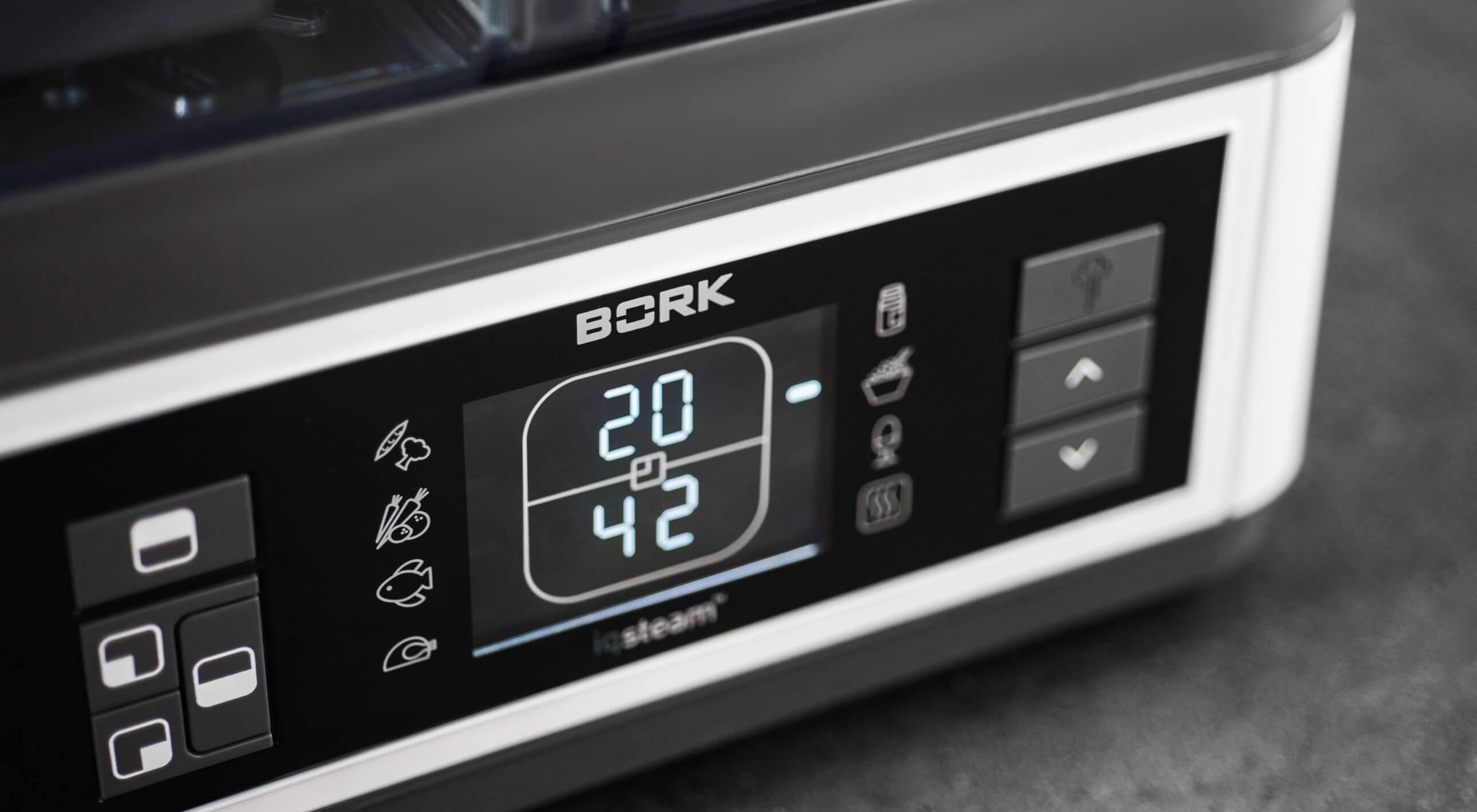 Дисплей пароварки Bork F700