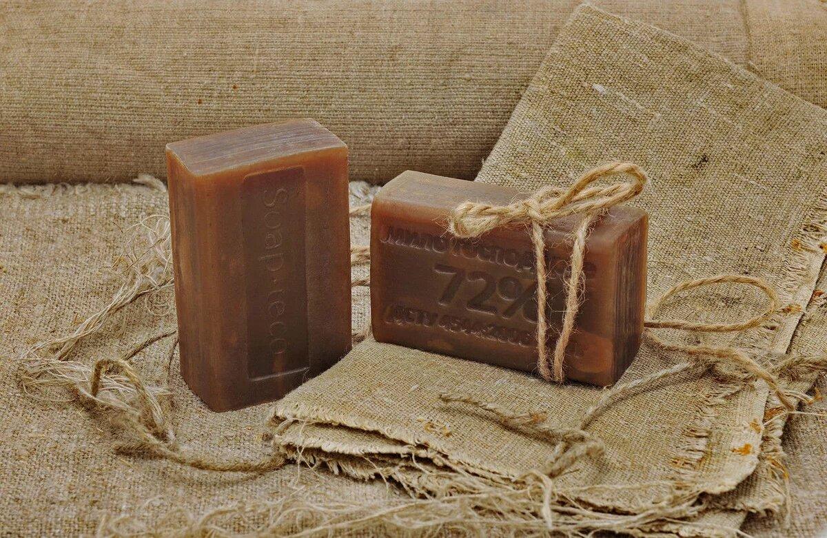 Фото темного хозяйственного мыла
