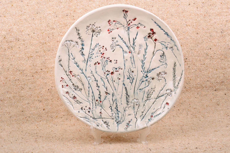 Фото керамического блюдца
