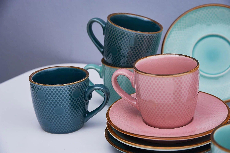 Кофейный набор из керамики