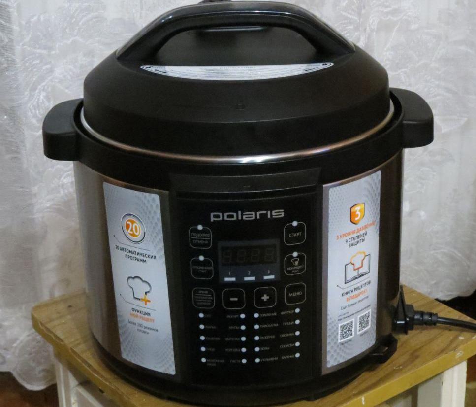 Мультиварка-скороварка Поларис на кухне