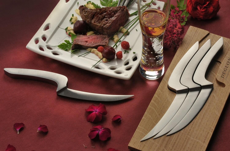 Набор ножей с доской