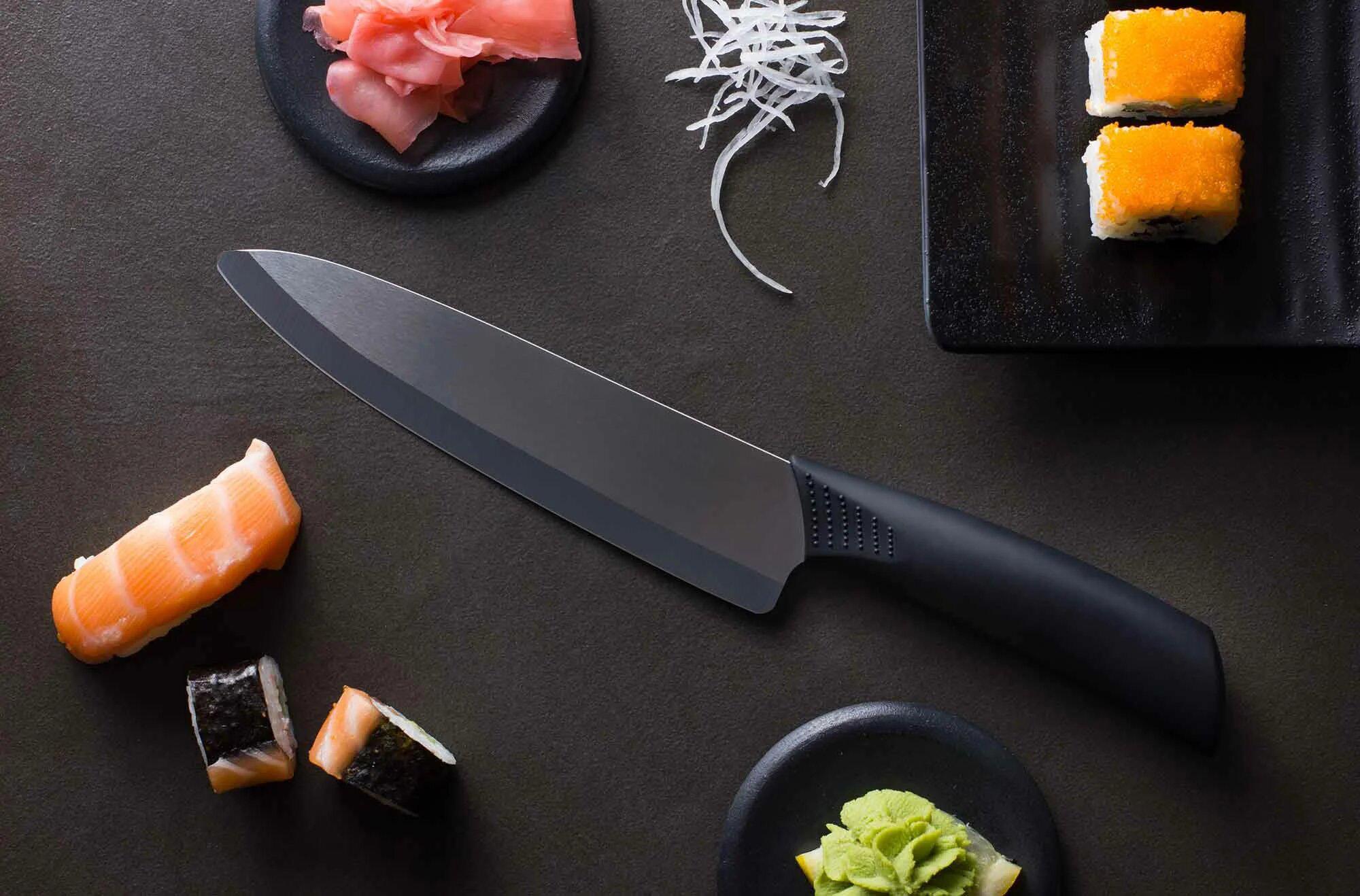 Нож из керамотитана