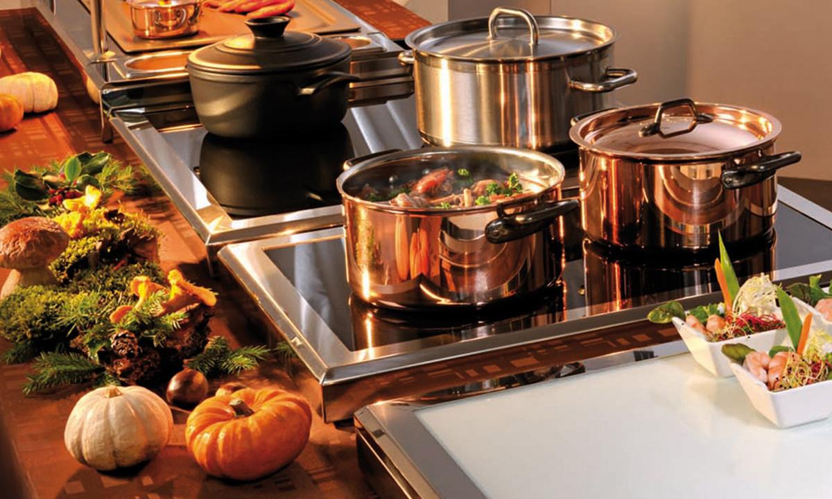 Фото посуды на кухне