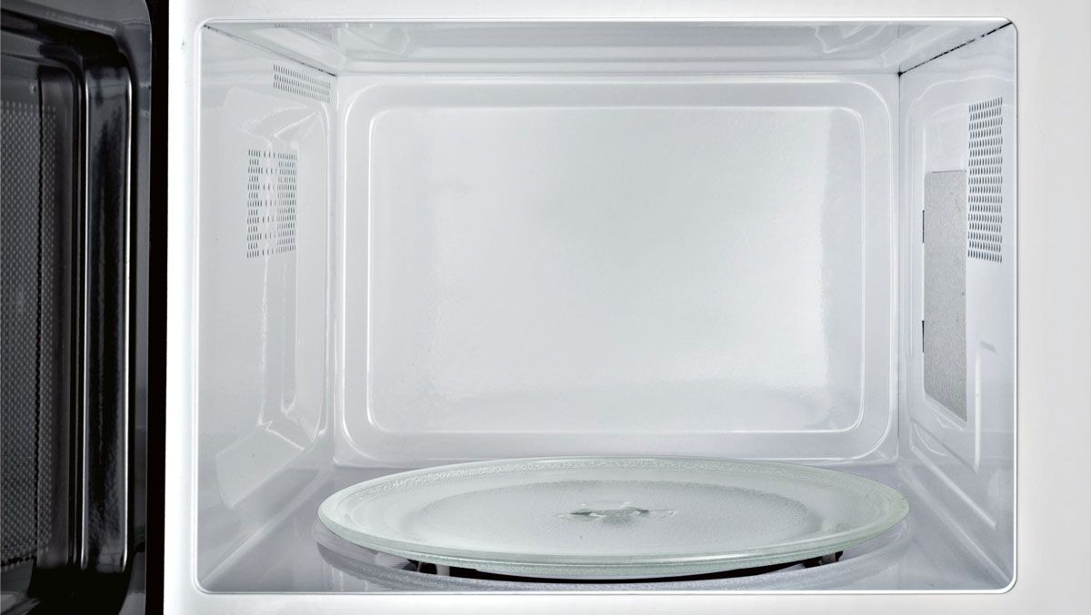 Поворотная тарелка в микроволновке