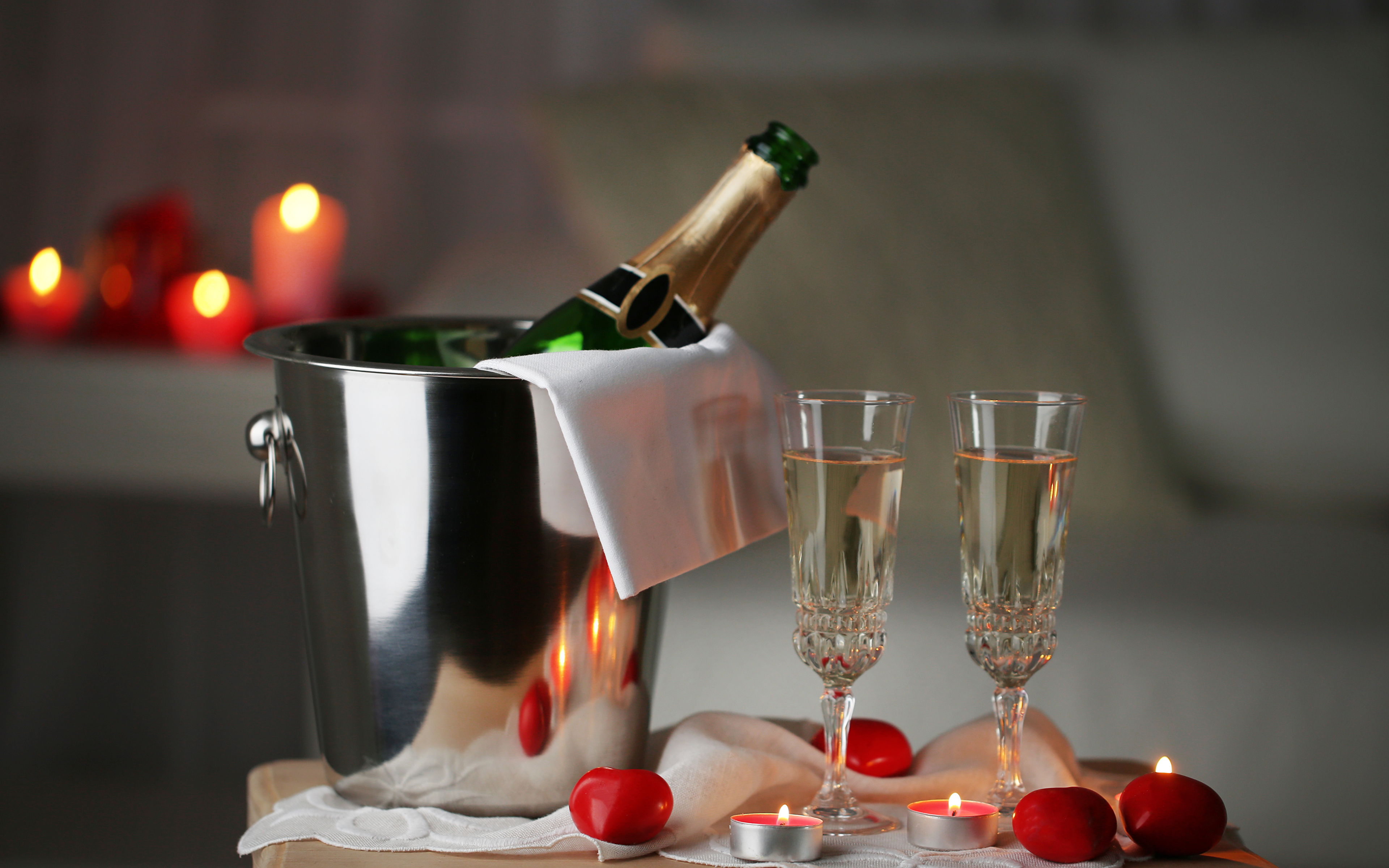 Фото шампанского в ведерке