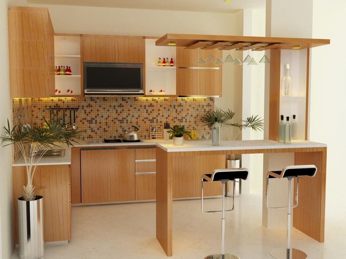 Отдельная стойка на кухне