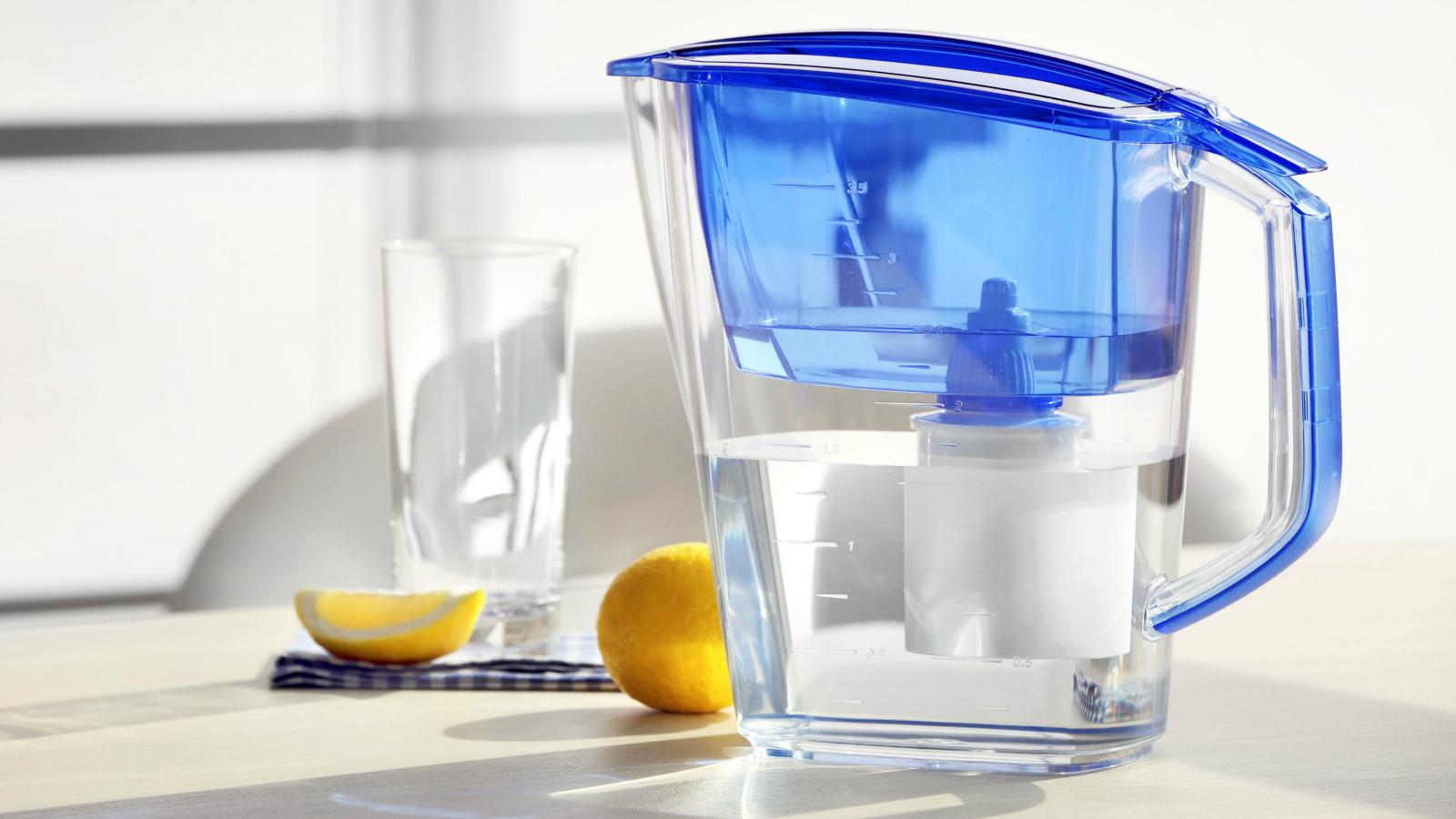 Вода в фильтре
