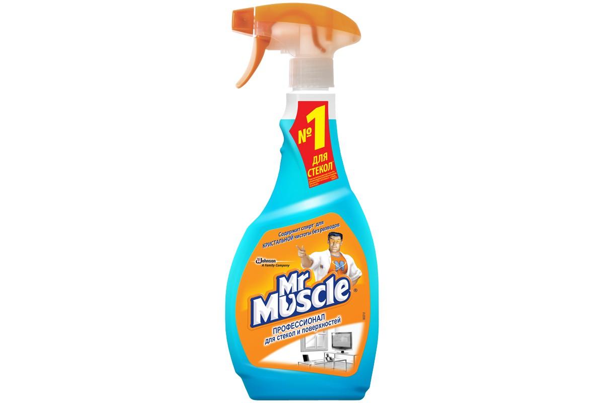 Средство для стекол Мистер Мускул